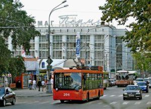 Особенности рекламы на транспорте Перми