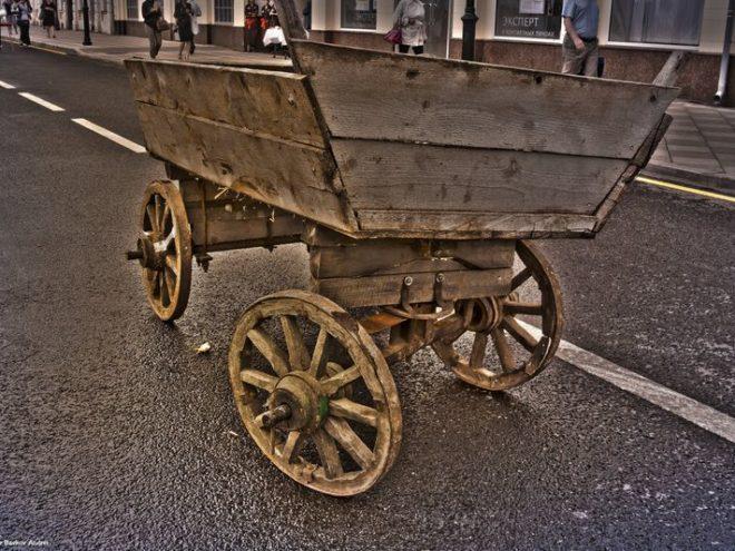 История рекламы на транспорте